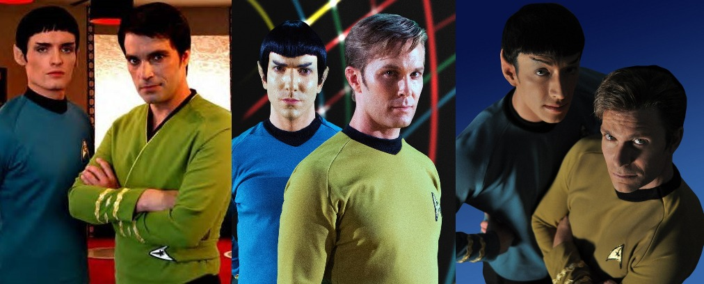 Kirk and Spock and Kirk and Spock and Kirk and Spock