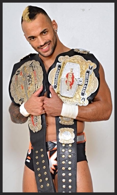 In this very ring the best in the world wrestler of 2014