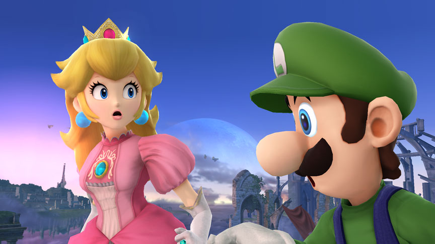 Smash Bros. Header