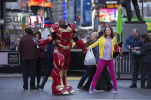 Titus (Tituss Burgess) and Kimmy (Ellie Kemper) are too adorable to resist.
