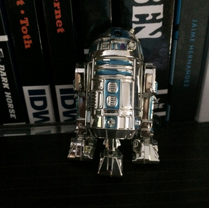 Welcome to the family, Silver Anniversary R2-D2!