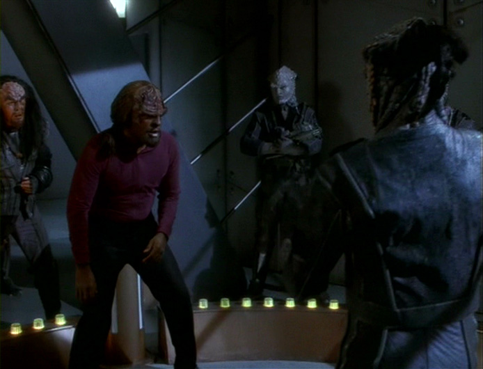 Worf's body may be battle-weary, but his heart will never be.