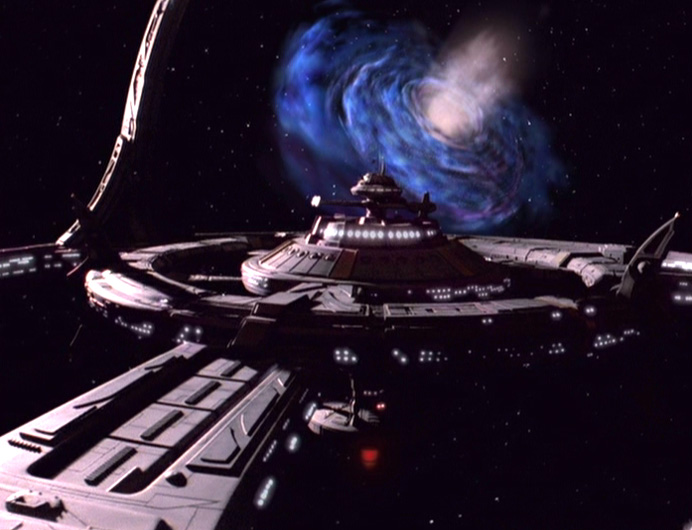 Deep Space 9 and the Bajoran Wormhole.