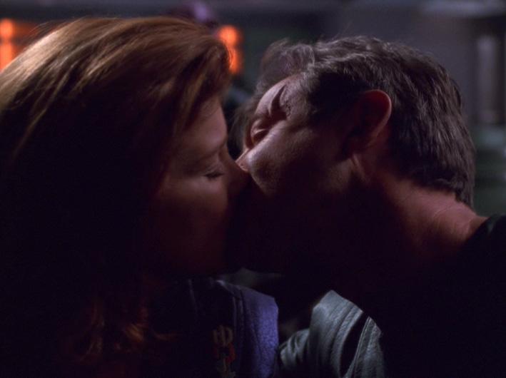 Janeway and Designated Love Interest Jaffen.