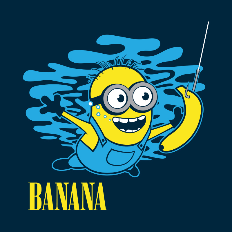 You can get this on a t-shirt at http://blog.riptapparel.com/blog/minions-t-shirts-and-poster-designs/#.VaBd9BNViko despite the fact that it doesn't even show dick.