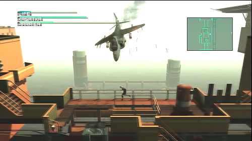 As ever, this Metal Gear game comes complete with a surface-to-air boss battle.