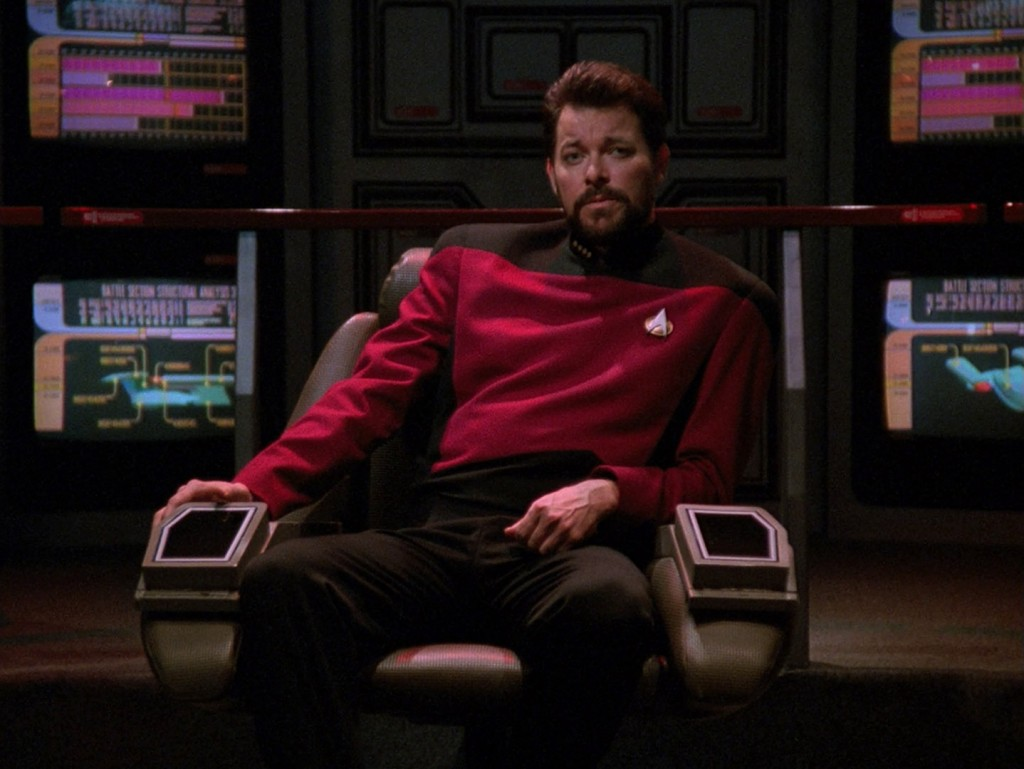 Captain William T. Riker.