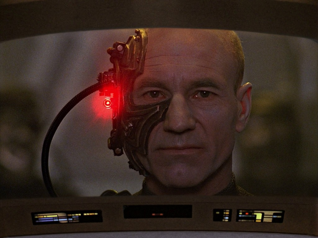 """I am Locutus of Borg. Resistance is futile. Your life as it has been is over. From this time forward, you will service us."""