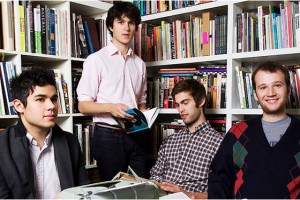 You know Vampire Weekend just loved going to school!