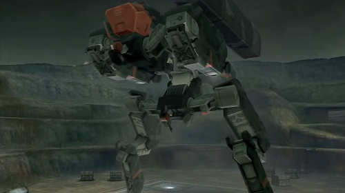 What Metal Gear game would be complete without some giant robots to fight?