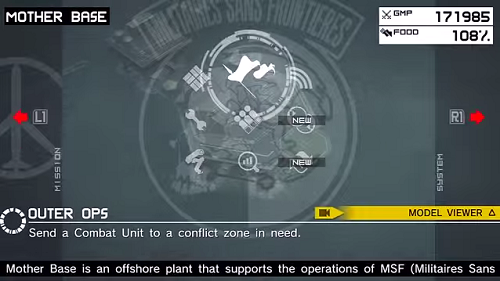 Mother Base introduces some strategy elements to the Metal Gear series.