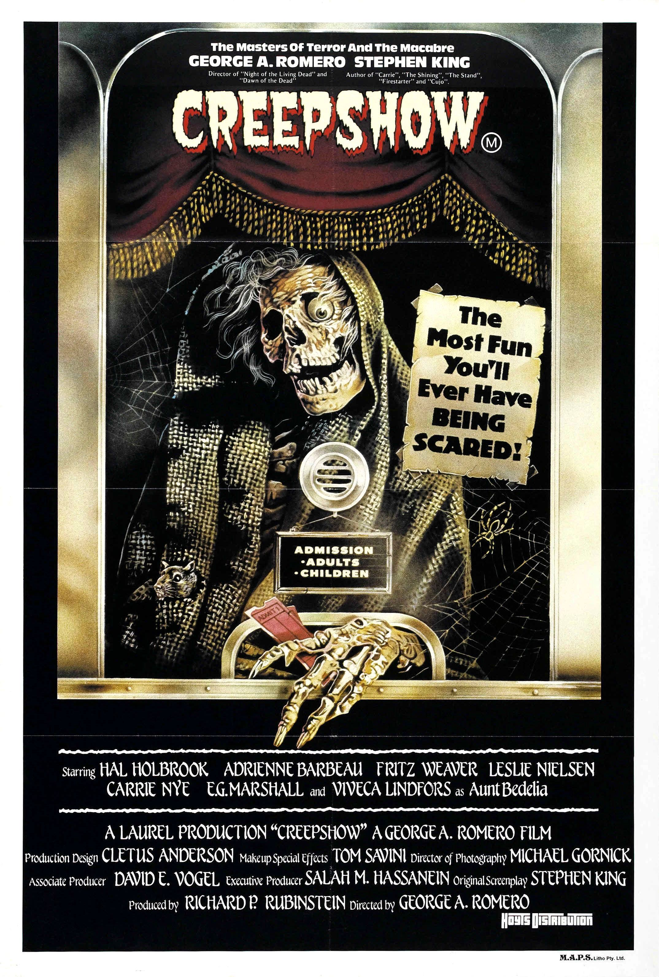 King on screen creepshow 1982 deadshirt for Movie photos for sale