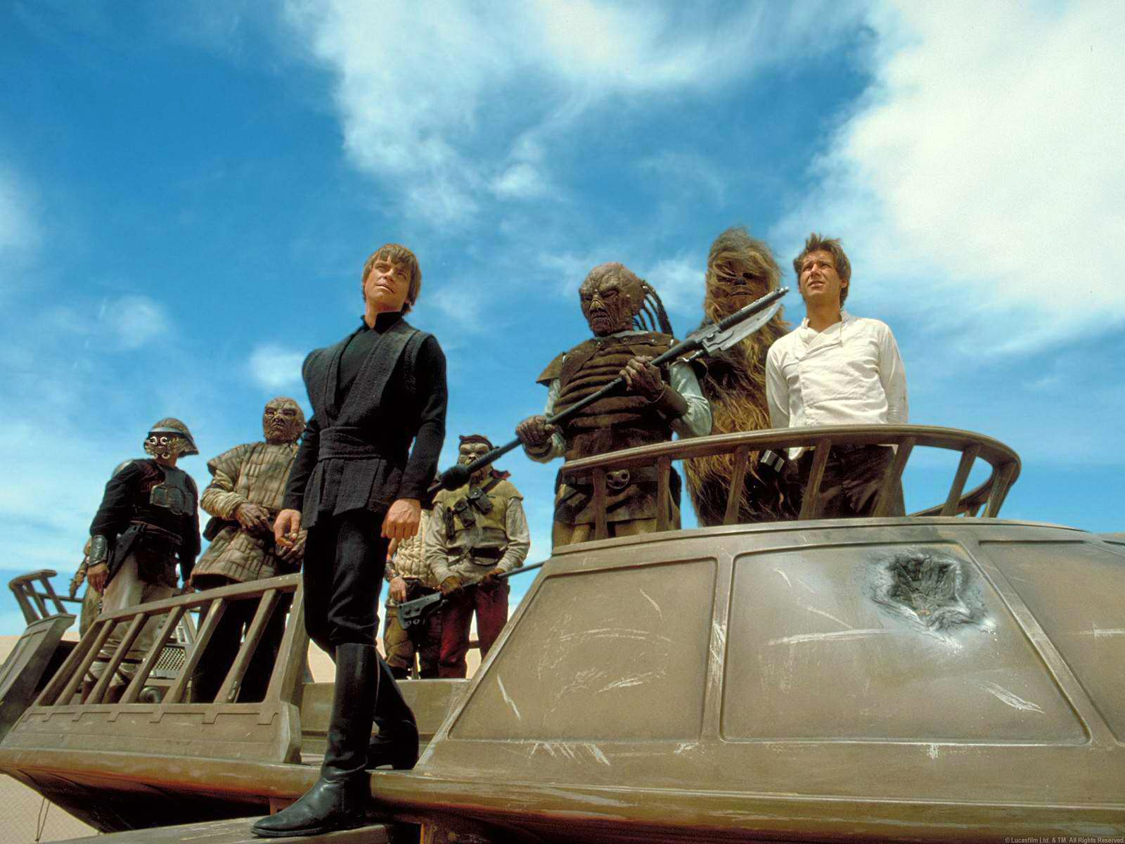 The Brilliance Of Return Of The Jedi S Quot Sail Barge Assault