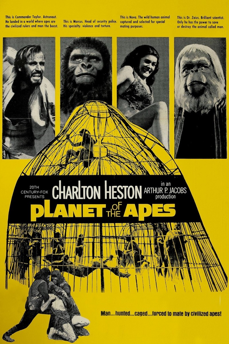 turn around bright eyes planet of the apes 1968