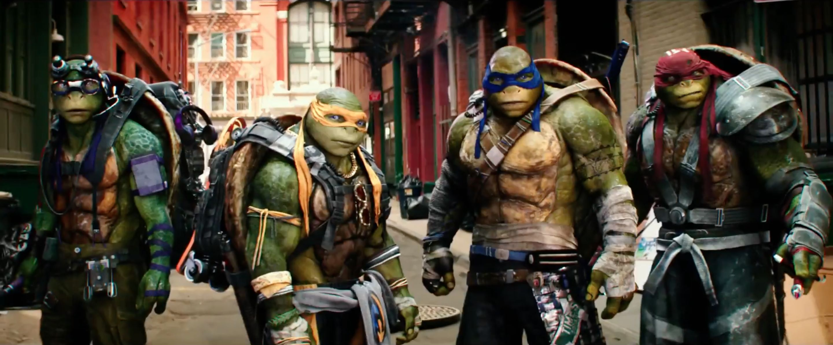 Turtle Teens Krang Ten In Tmnt Out Of The Shadows Review Deadshirt