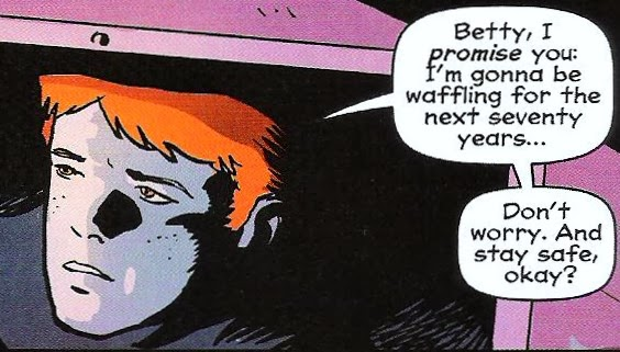 From Afterlife with Archie #3 (2014), w. Roberto Aguirre-Sacasa, p. Francesco Francavilla